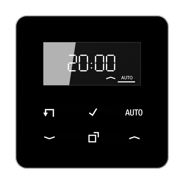 Jung CD1750DSW Timer Standard mit Display (Duroplast)...