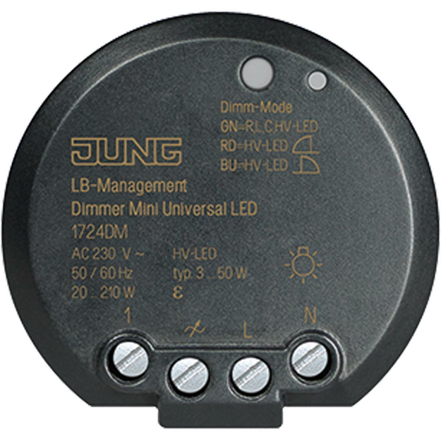 Jung 1724DM Minidimmer Universal LED UP