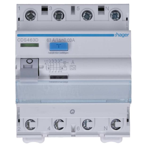 Hager MCS116 LS-Schalter 1P 6kA C-16A QC Quick Connect 1M