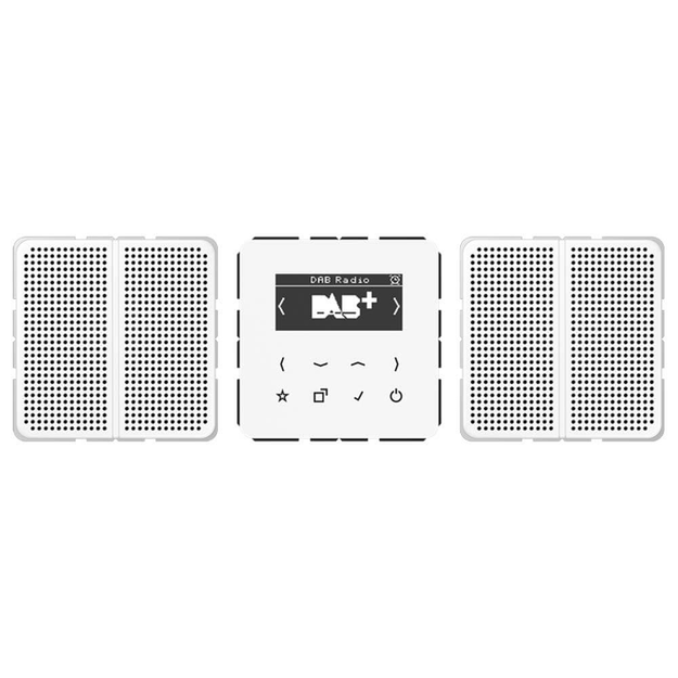 Jung DABCD2WW Smart Radio DAB+ Set Stereo (Duroplast)...