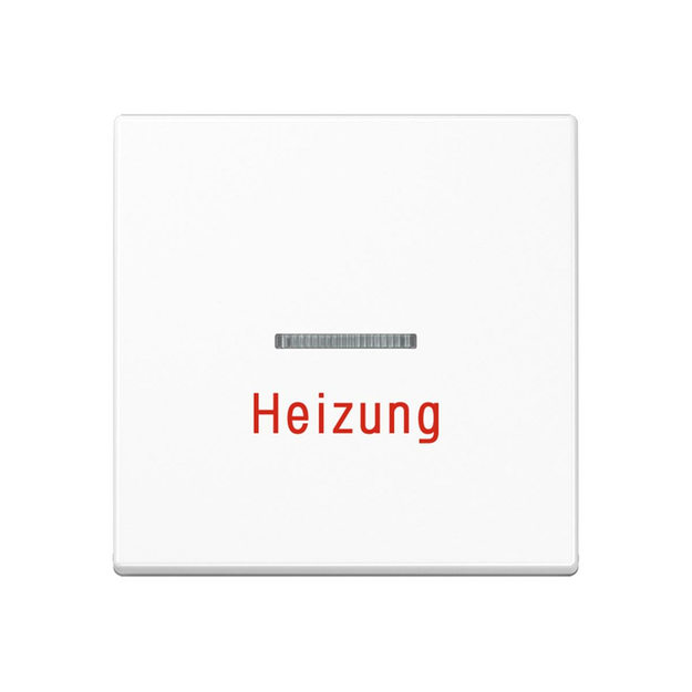 Jung A590BFHWW Wippe Heizung (Thermoplast bruchsicher)...