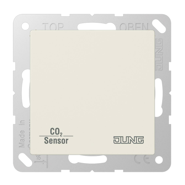 Jung CO2A2178 KNX CO2 Sensor (Duroplast) Weiß Serie AS