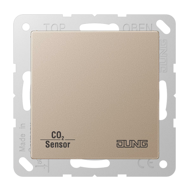 Jung CO2A2178CH KNX CO2 Sensor (Duroplast) Champagner...